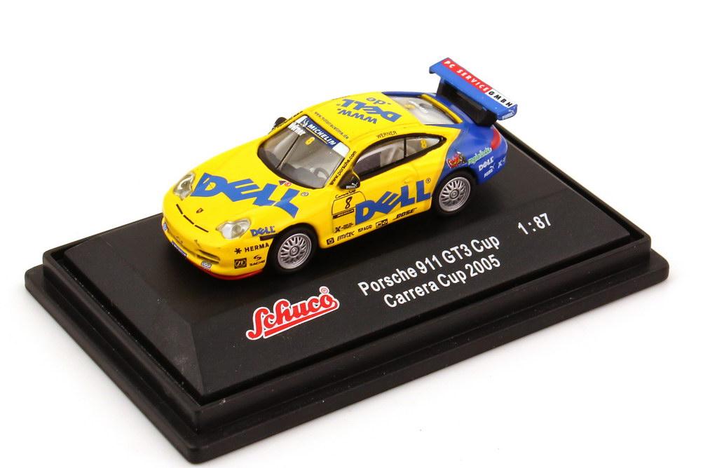 Foto 1:87 Porsche 911 GT3 Cup (996) PCC 2005 DELL Nr.8, Werner Schuco 25227