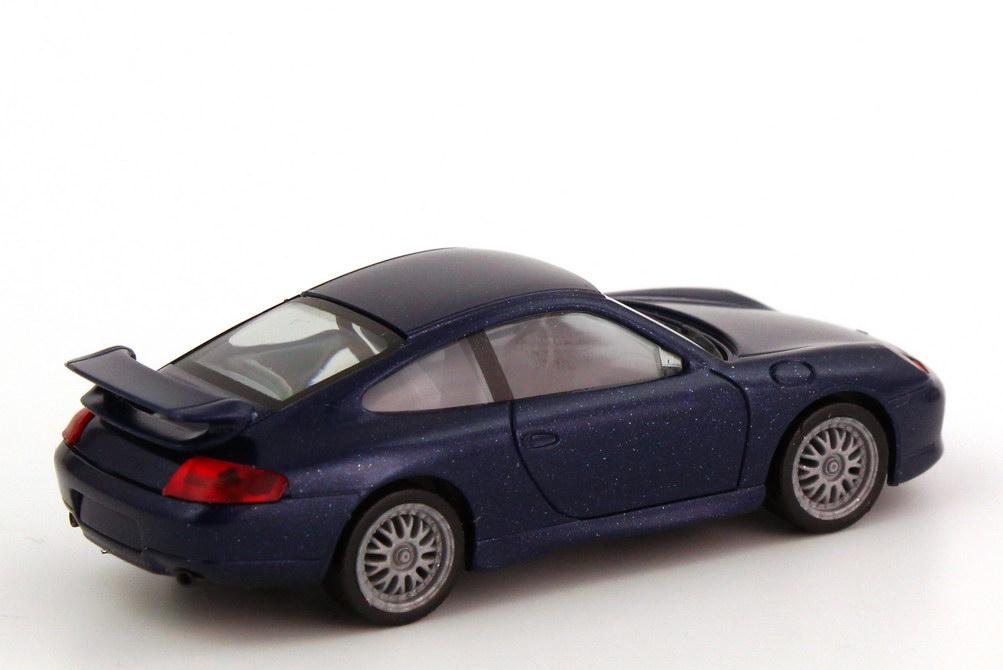 Foto 1:87 Porsche 911 GT3 (996) dunkelblau-met. herpa 032605