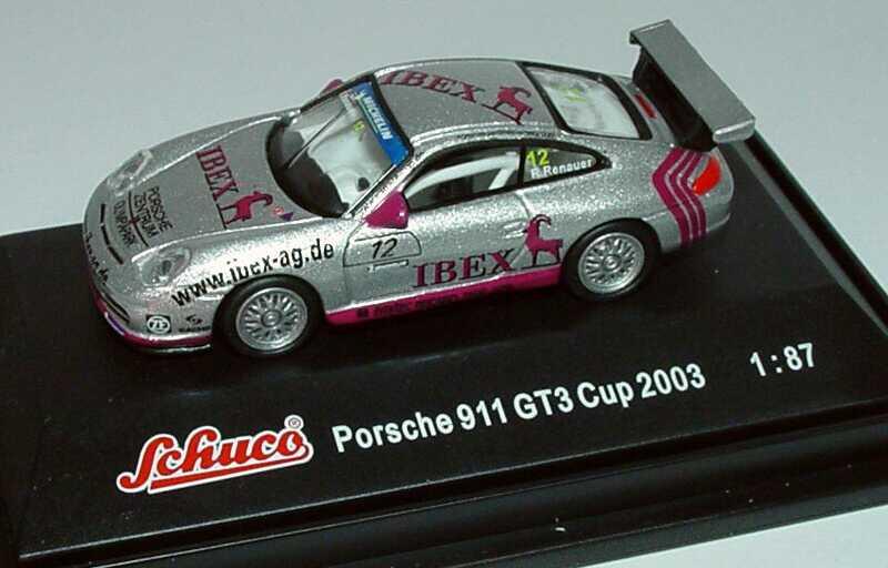 Foto 1:87 Porsche 911 GT3 Cup (996) PCC 2003 Herberth Motorsport, IBEX Nr.12, Robert Renauer Schuco 21835