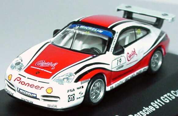 Foto 1:87 Porsche 911 GT3 Cup (996) PCC 2003 Schnabl Engineering, Crystal Nr.19, Jörg Hardt Schuco 21830