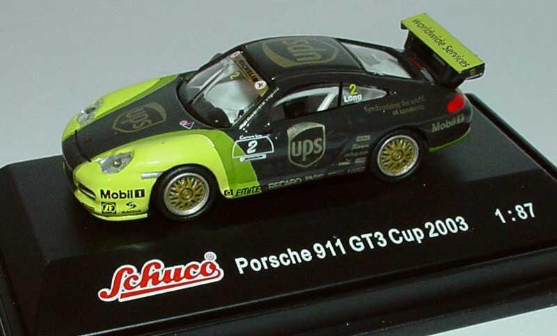 Foto 1:87 Porsche 911 GT3 Cup (996) PCC 2003 UPS Porsche-Junior Team Nr.2, Patrick Long Schuco 21828