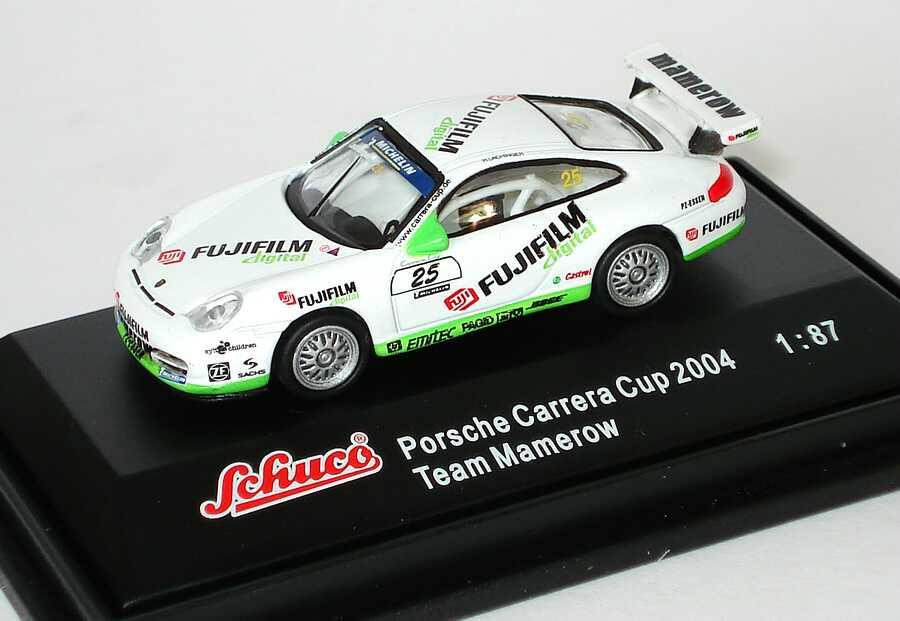 Foto 1:87 Porsche 911 GT3 Cup (996) PCC 2004 Mamerow, FujiFilm digital Nr. 25, Lachinger Schuco 21949