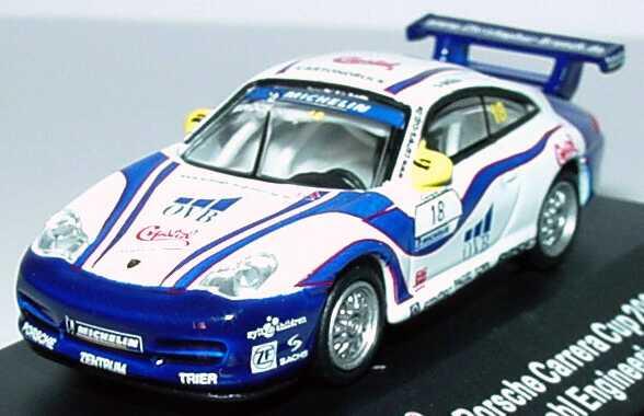 Foto 1:87 Porsche 911 GT3 Cup (996) PCC 2004 Schnabl Engineering, Crystal, OVB Nr.18, Brück Schuco 21945