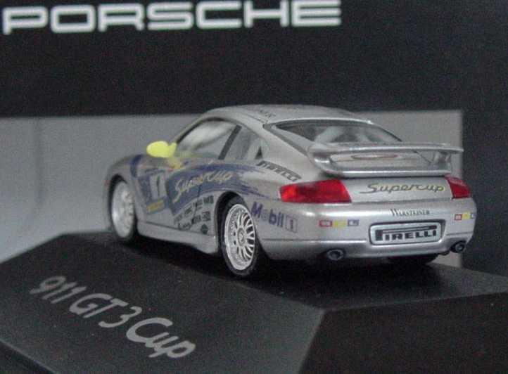 Foto 1:87 Porsche 911 GT3 Cup (996) Supercup Nr.1 Werbemodell herpa WAP02202799