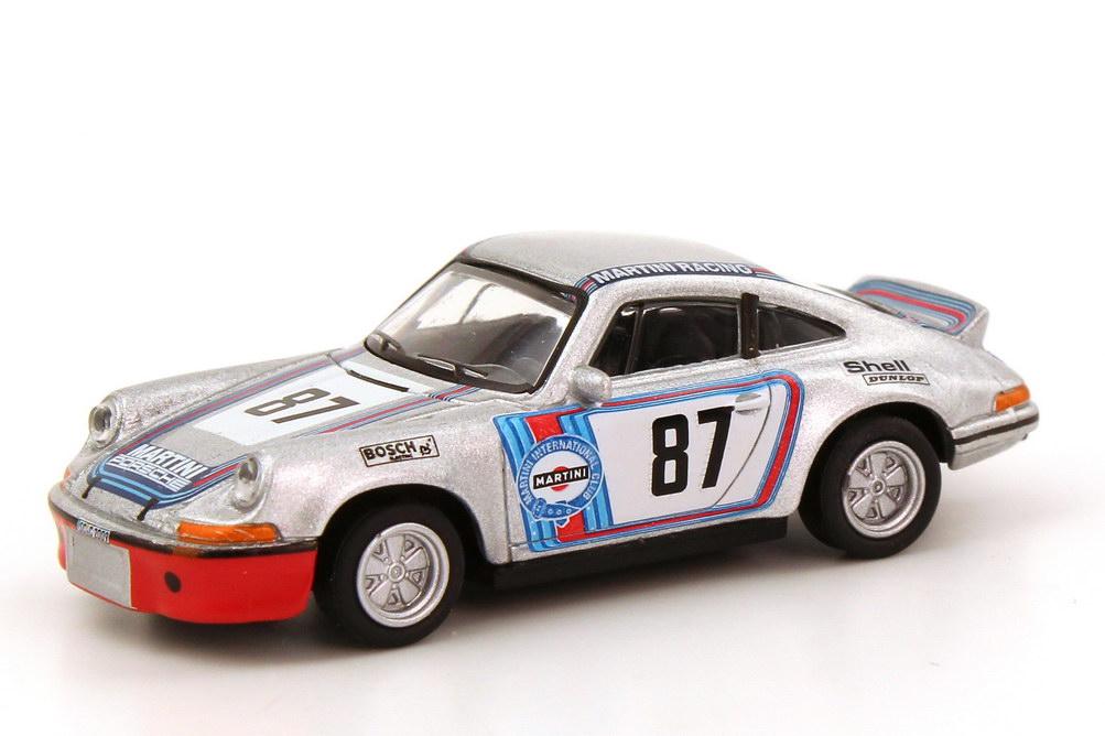 Foto 1:87 Porsche 911 RSR Martini Racing Nr.87 Schuco 452566000