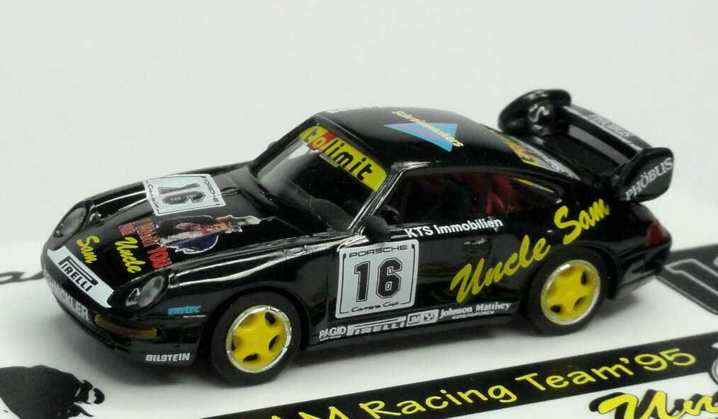 Foto 1:87 Porsche 911 RS Clubsport (993) PCC ´95 Uncle Sam, Tolimit Nr.16, Frank Schmickler euromodell 01402