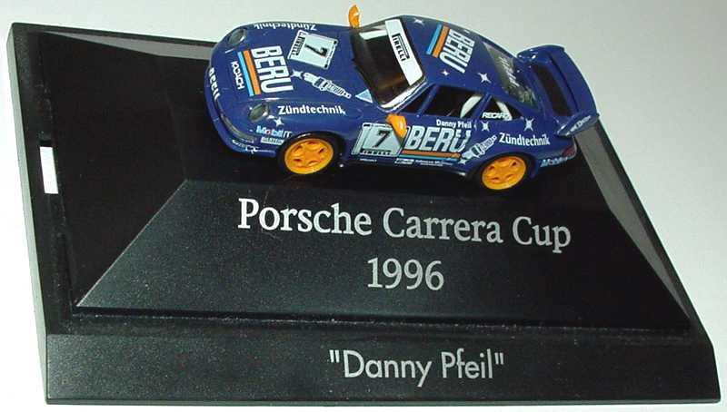 Foto 1:87 Porsche 911 RS Clubsport (993) PCC ´96 Beru Nr.7, Dany Pfeil herpa 037020