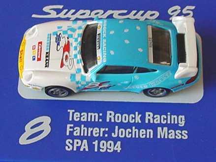 Foto 1:87 Porsche 911 RS Clubsport (993) PSC ´95 Roock Racing, Breuer Krane Nr.8, Jochen Mass euromodell 01409
