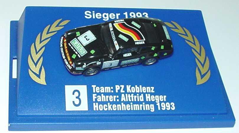 Foto 1:87 Porsche 911 RS Clubsport (993) PSC ´95 Shell, RTL Nr.1, Beretta (VIP Gastfahrer) euromodell 01404