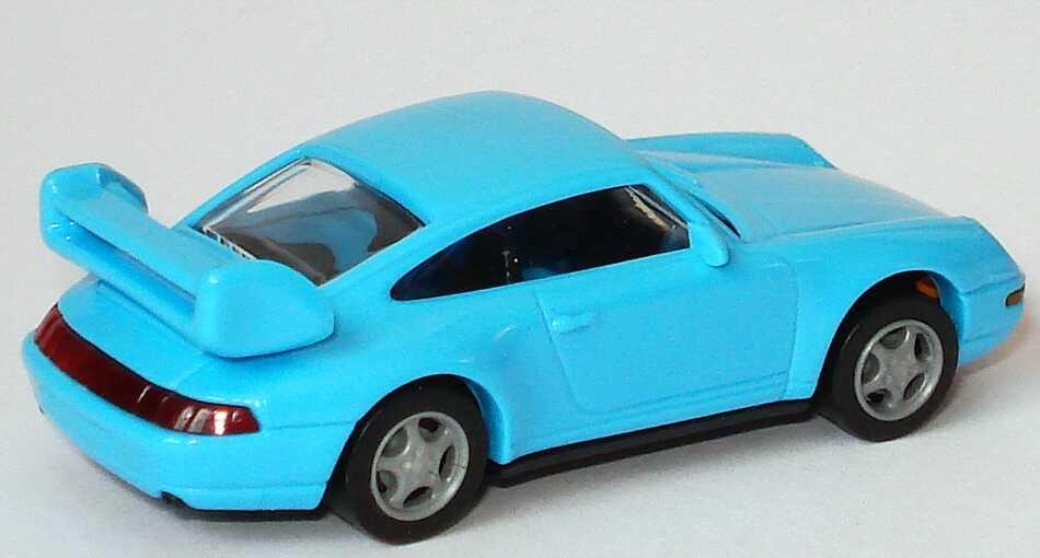 Foto 1:87 Porsche 911 3.8 Cup (993) hellblau euromodell 00406