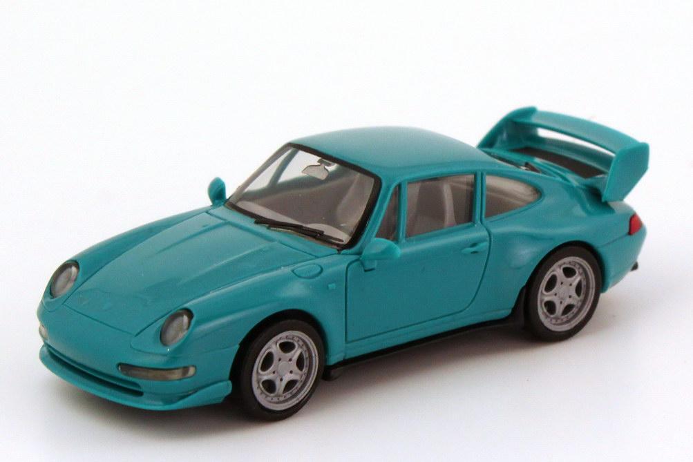 Foto 1:87 Porsche 911 RS Clubsport (993) türkis herpa 022088