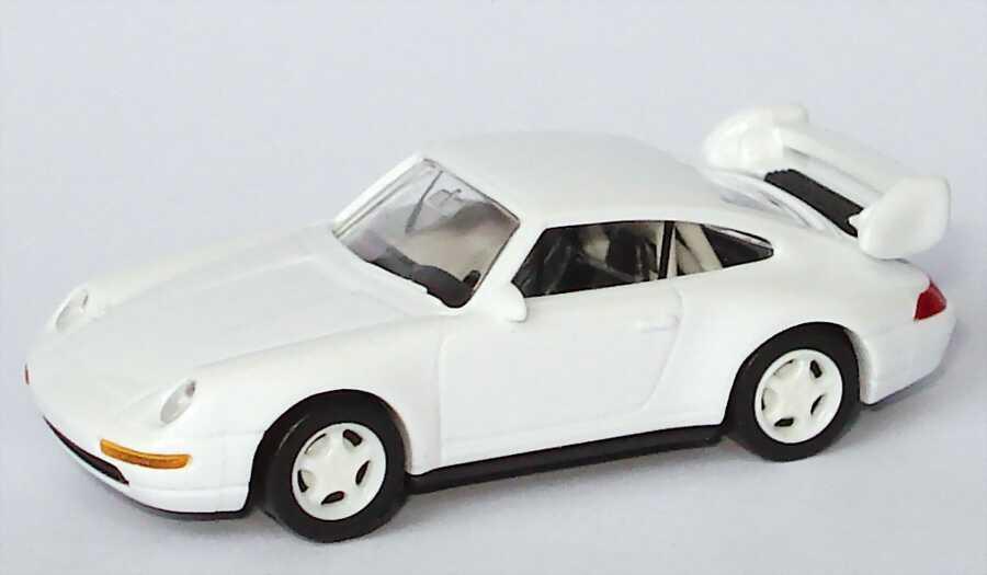 Foto 1:87 Porsche 911 RS Clubsport (993) weiß, Felgen weiß,  IA schwarz mit Überrollbügel euromodell 00406