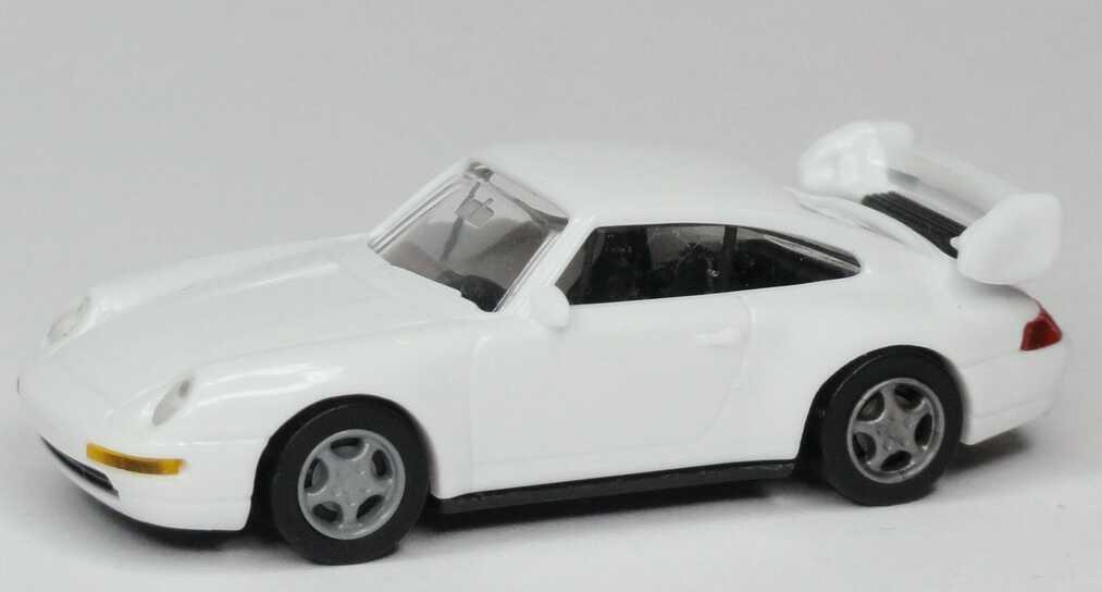 Foto 1:87 Porsche 911 3.8 Cup (993) weiß, IA schwarz euromodell 00406