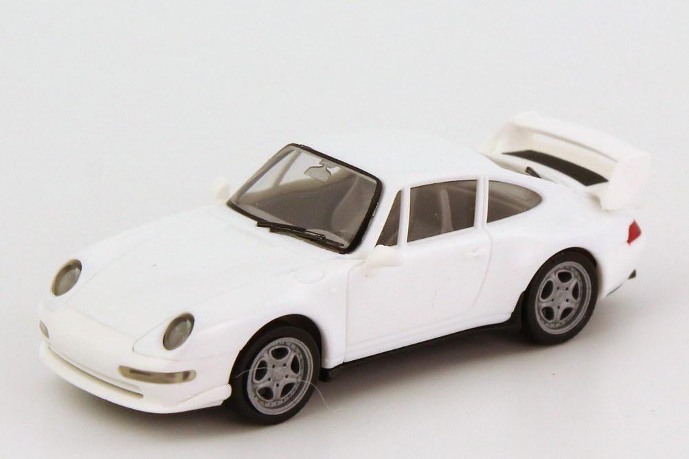 Foto 1:87 Porsche 911 RS Clubsport (993) weiß herpa 022088/185400/188814
