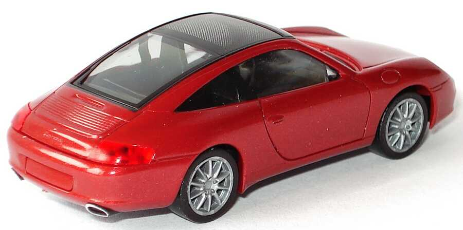 Foto 1:87 Porsche 911 Targa (996) rot-met. herpa 033039