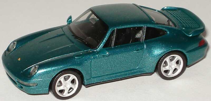 Foto 1:87 Porsche 911 Turbo (993) amazonasgrün-met. herpa