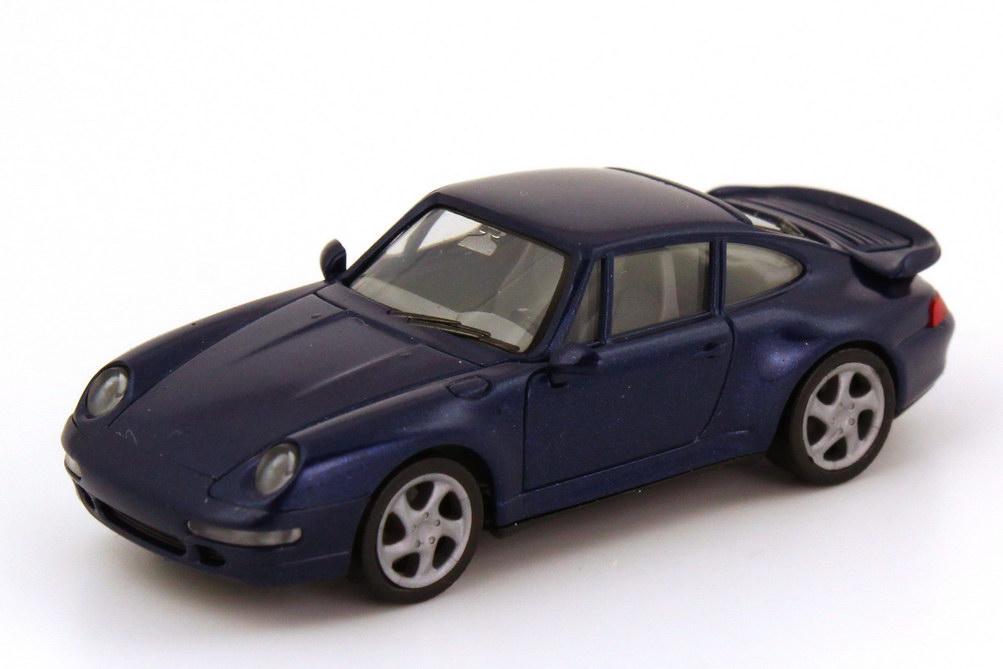 Foto 1:87 Porsche 911 Turbo (993) dunkelblau-met. herpa 031899