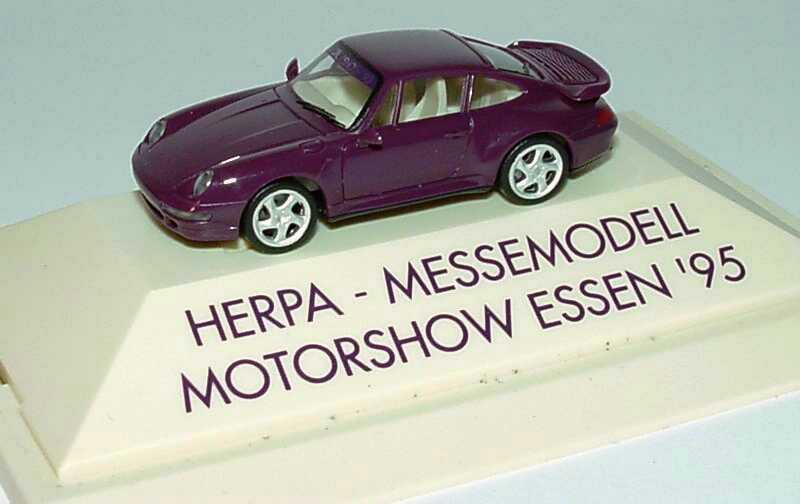 Foto 1:87 Porsche 911 Turbo (993) dunkelviolett Motorshow Essen ´95 herpa 178778