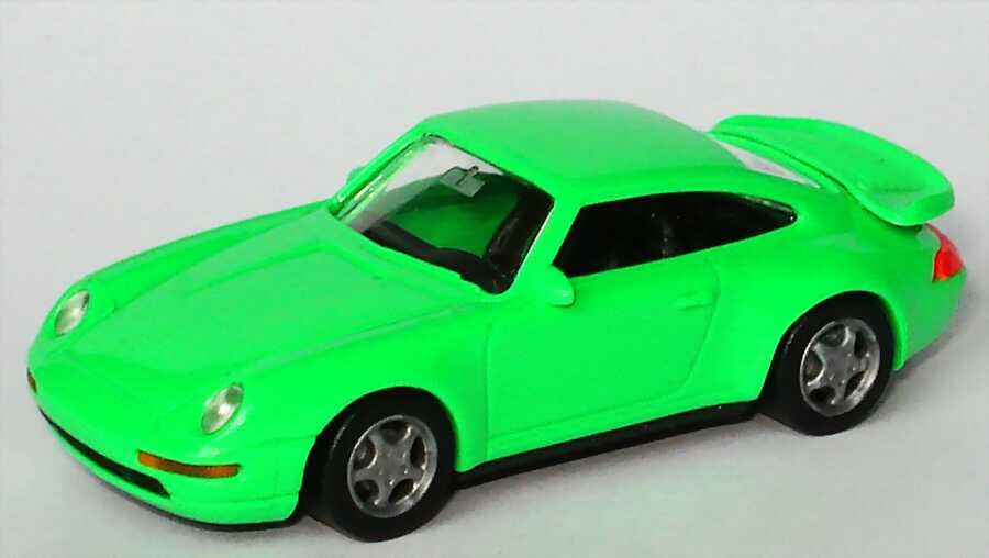 Foto 1:87 Porsche 911 Turbo (993) helllindgrün euromodell