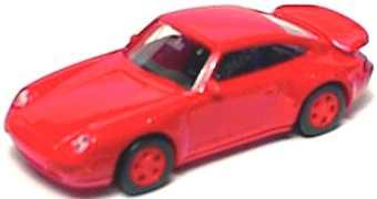 Foto 1:87 Porsche 911 Turbo (993) rot euromodell 00899