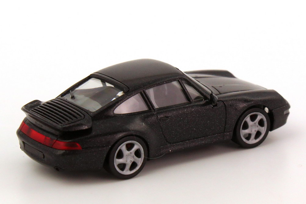 Foto 1:87 Porsche 911 Turbo (993) schwarz-met. herpa 031899