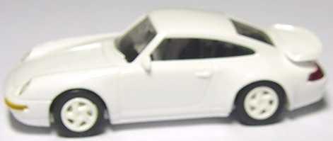 Foto 1:87 Porsche 911 Turbo (993) weiß, Felgen weiß euromodell