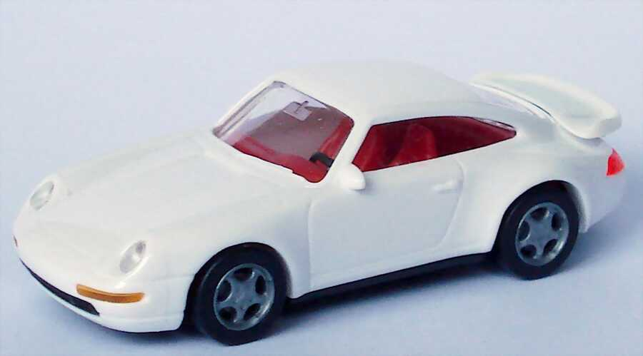 Foto 1:87 Porsche 911 Turbo (993) weiß, IA rot euromodell
