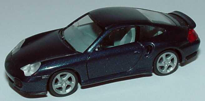 Foto 1:87 Porsche 911 Turbo (996) dunkellagunenblau-met. herpa 032834