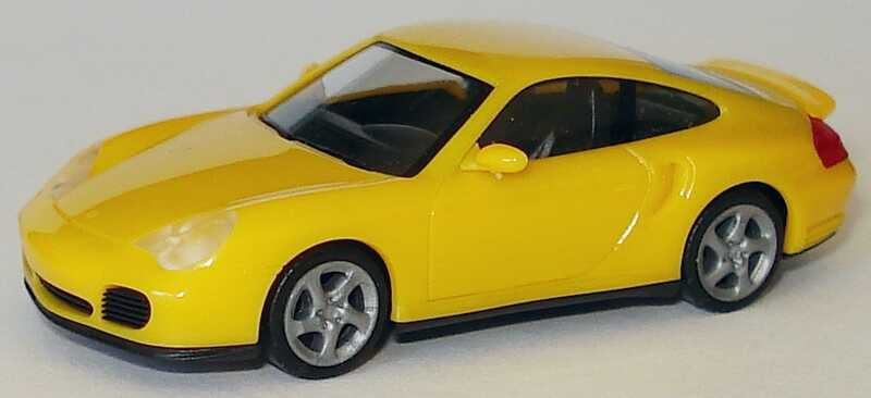 Foto 1:87 Porsche 911 Turbo (996) gelb herpa 022835
