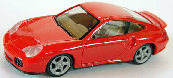 Foto 1:87 Porsche 911 Turbo (996) rot herpa 022835
