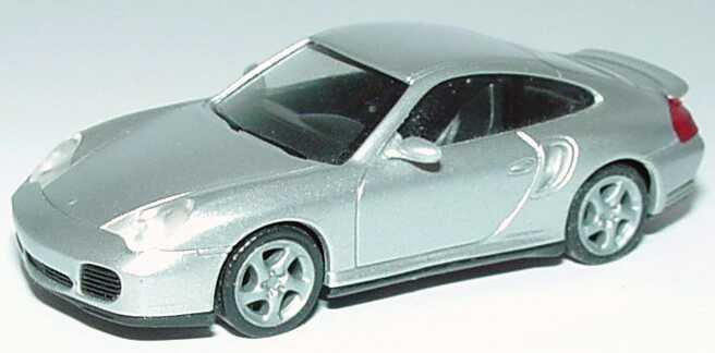 Foto 1:87 Porsche 911 Turbo (996) silber-met. herpa 032834