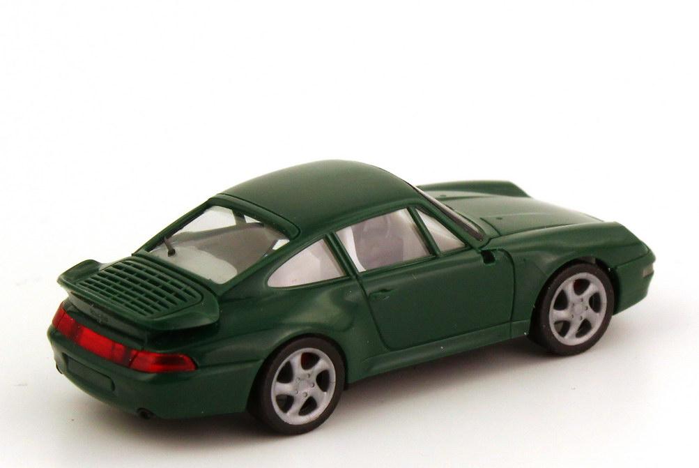Foto 1:87 Porsche 911 Turbo (993) dunkelgrün herpa 021890