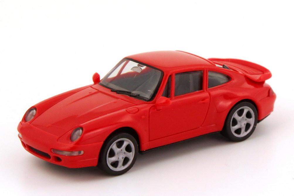 Foto 1:87 Porsche 911 Turbo (993) rot herpa 021890