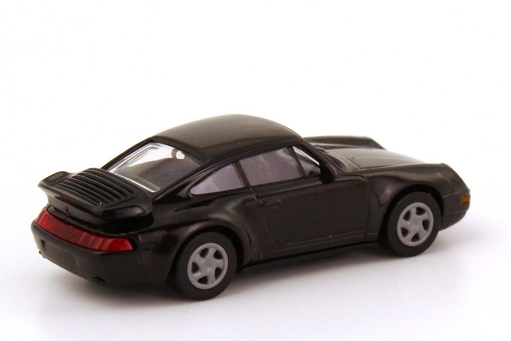 Foto 1:87 Porsche 911 Turbo (993) schwarz euromodell