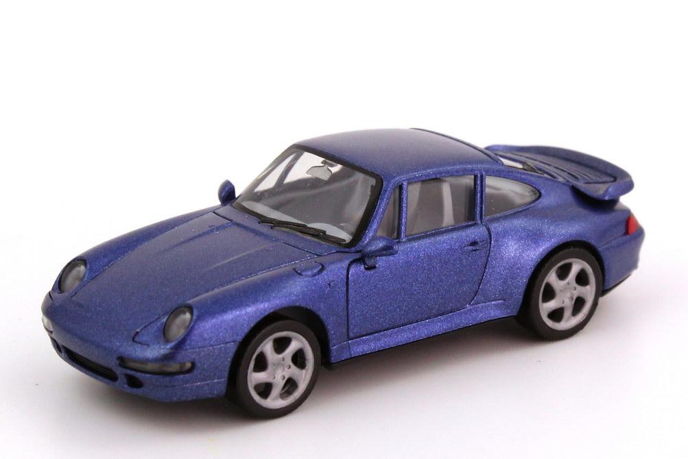 Foto 1:87 Porsche 911 Turbo (993) veilchenblau-met. herpa 031899