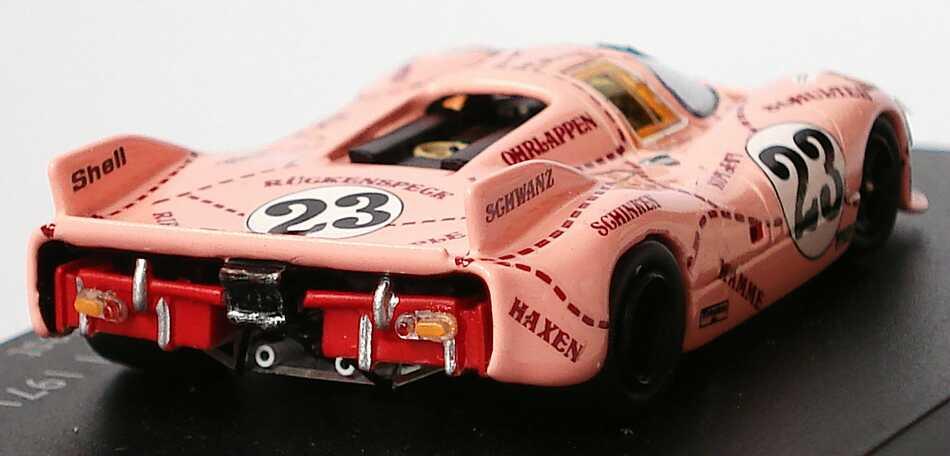 Foto 1:87 Porsche 917/20 24h von Le Mans 1971 Pink Pig / Die Sau Nr.23, W. Kauhsen / R. Joest Spark 87S031