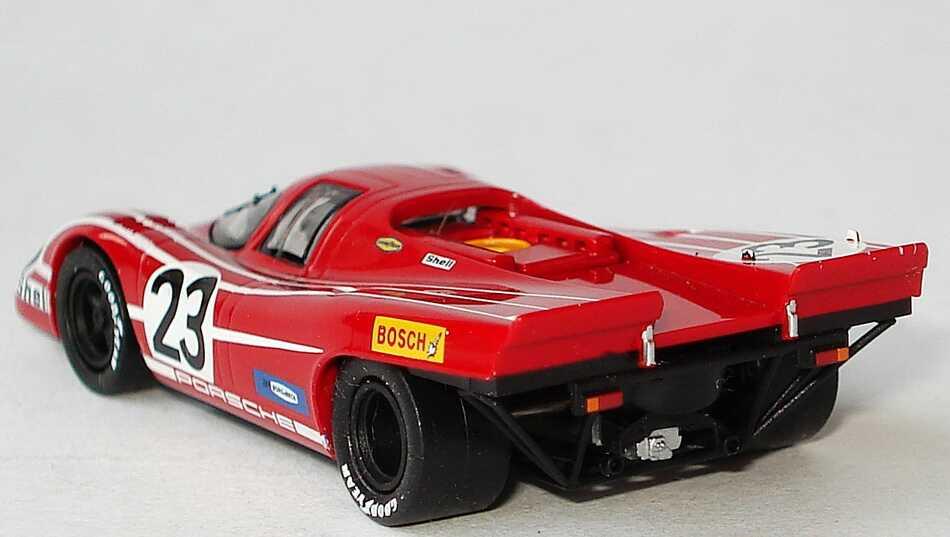 Foto 1:87 Porsche 917 K 24h von Le Mans 1970 Porsche Salzburg Nr.23, Herrmann / Attwood (Sieger) Brekina 16001