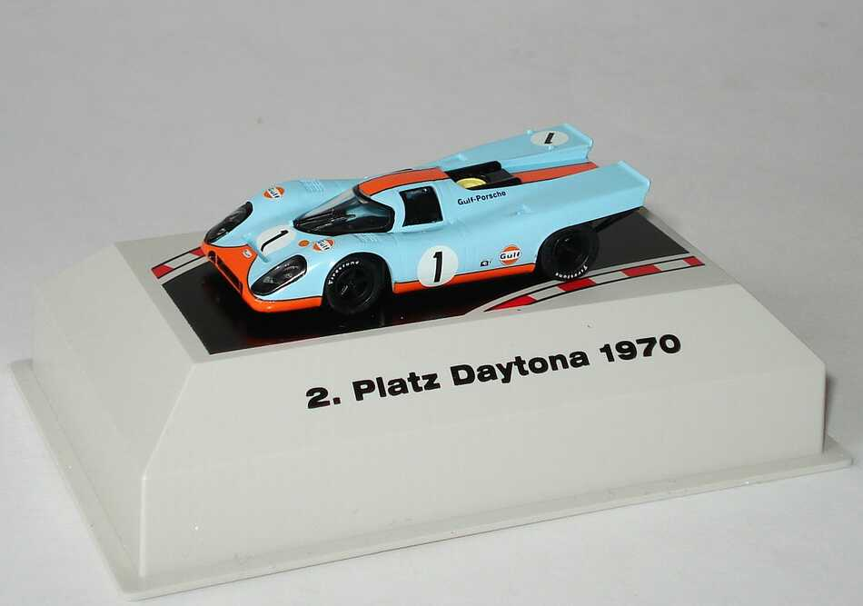 Foto 1:87 Porsche 917 K Daytona 1970 Gulf-Porsche Nr.1, Siffert / Redman (2. Platz) Brekina 16008