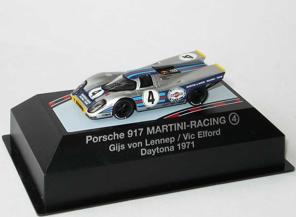 Foto 1:87 Porsche 917 K Daytona 1971 Martini-Racing Nr.4, Lennep / Elford Brekina 16003