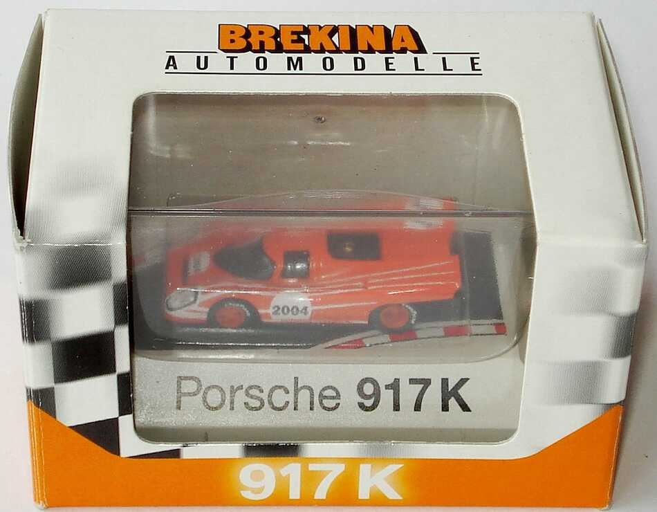 Foto 1:87 Porsche 917 K Nr.2004, Messemodell Spielwarenmesse Nürnberg 2004 Brekina