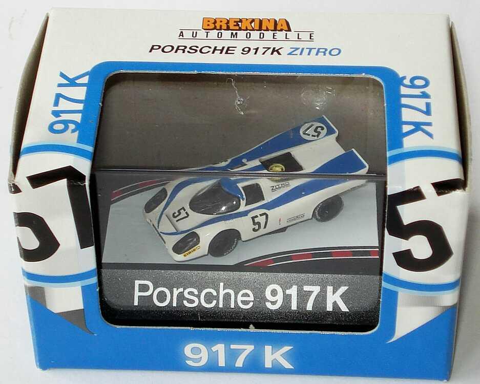 Foto 1:87 Porsche 917 K Zitro Nr.57 Brekina 16010