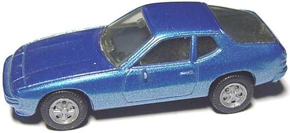 Foto 1:87 Porsche 924 blau-met. herpa 3002