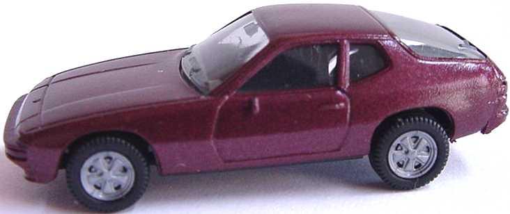 Foto 1:87 Porsche 924 dunkelrot-met. herpa 3002