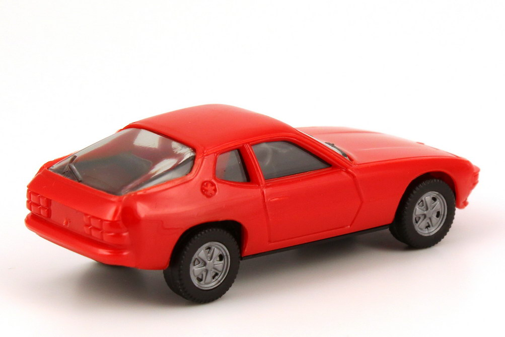 Foto 1:87 Porsche 924 orange-rot, Fuchs-Felgen - herpa 2002