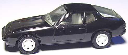 Foto 1:87 Porsche 924 schwarz (weiße Felgen) herpa 2002