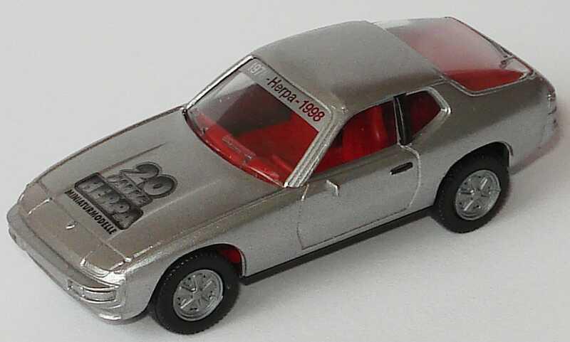 Foto 1:87 Porsche 924 silber-met. 20 Jahre Herpa herpa