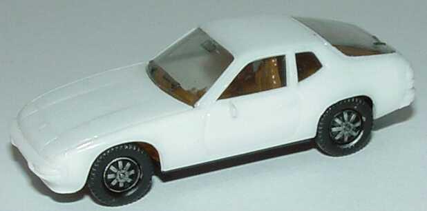 Foto 1:87 Porsche 924 weiß, IA beige herpa 2002