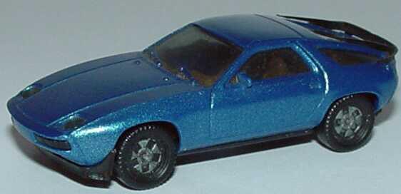 Foto 1:87 Porsche 928S blau-met. (alte Felgen), IA beige herpa 3025