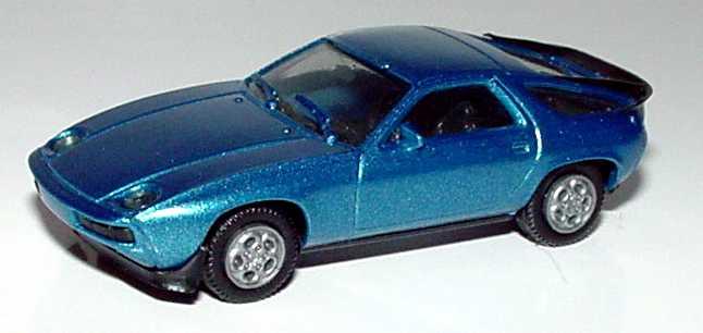 Foto 1:87 Porsche 928S blau-met. herpa 3025