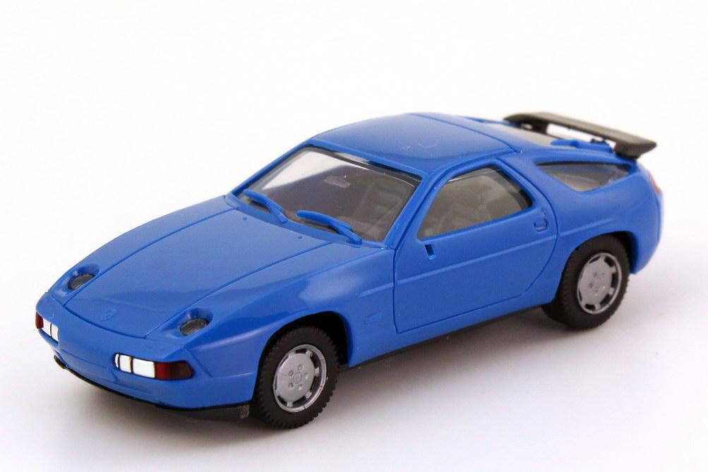 Foto 1:87 Porsche 928 S4 blau herpa 020718